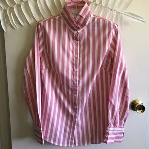 Banana Republic Long Sleeve Striped Shirt